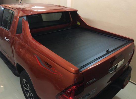 ฝาปิดกระบะ RollerUp สำหรับ Toyota Revo TRD